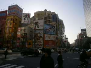 The street of maids, moe and electronics, Akihabara